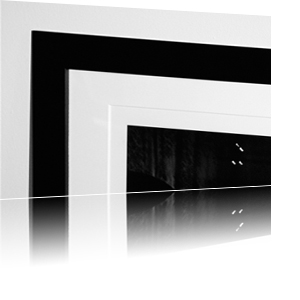 vaperture gallery style framing